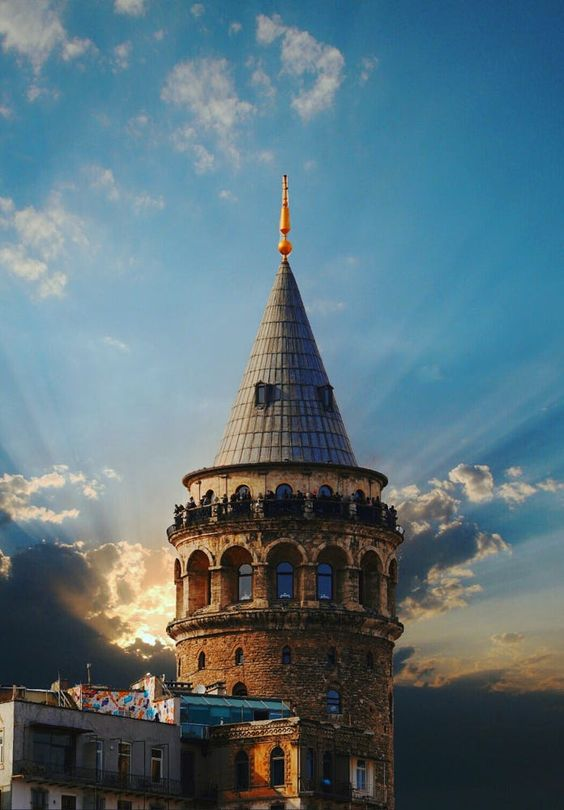 Iconic museum in Istanbul, Galata tower