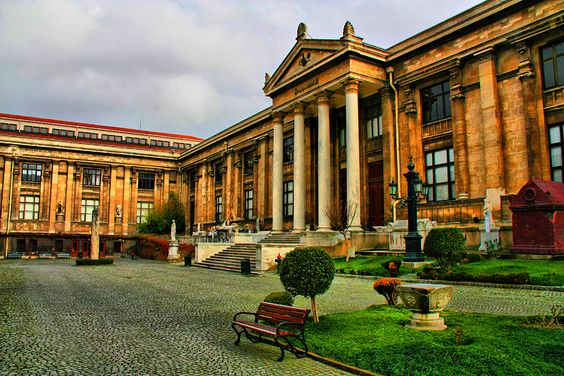 Visiting Istanbul archeological museum