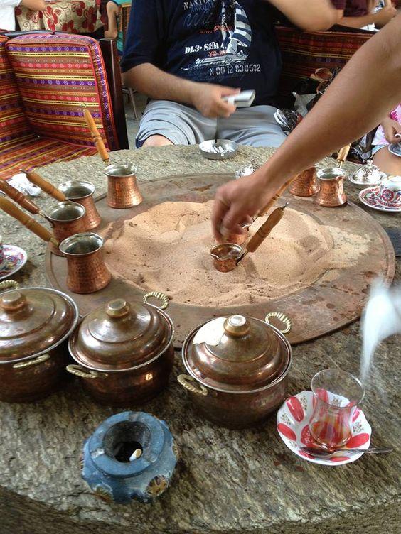 Turkish coffee in the Grand Bazaar
