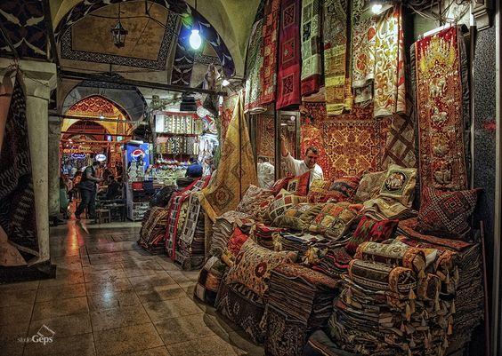 Turkish carpet in Grand Bazaar