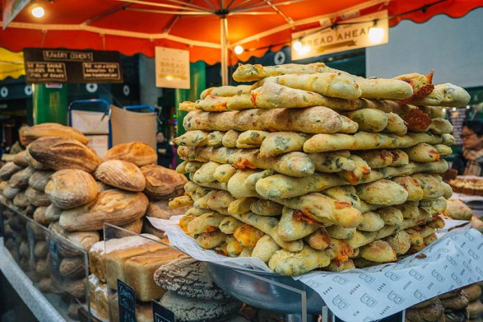 what to eat in borough market food tour