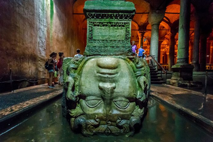 Basilica cistern in Istanbul travel guide