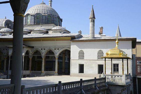the fourth couryard area of Topkapi palace