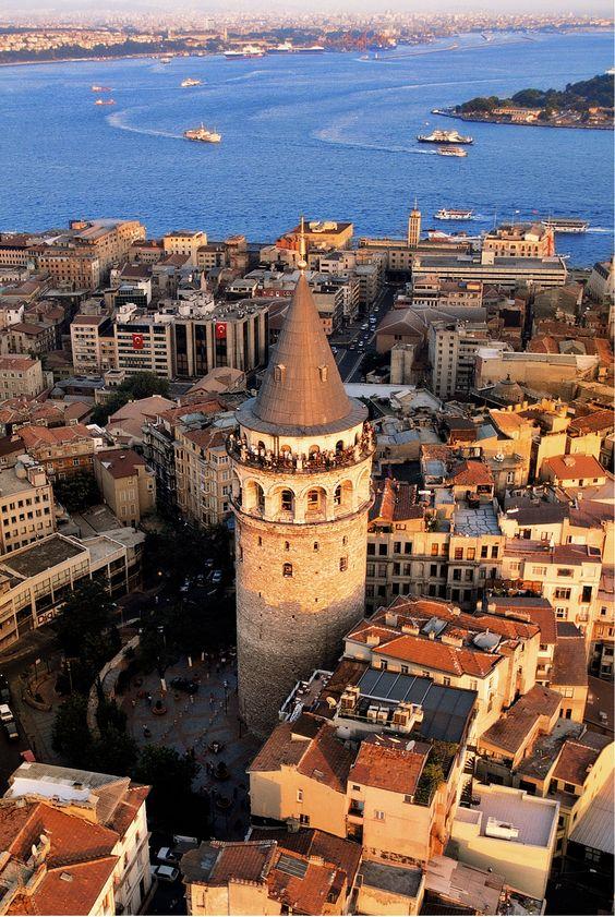 Galata tower history