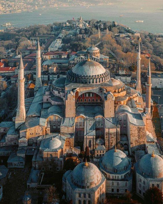 historical site in Istanbul Hagia Sophia