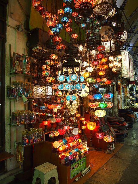 lantern section in The Grand Bazaar