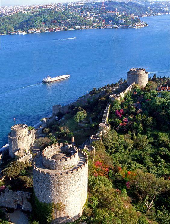 Rumelihisari fortress in Istanbul
