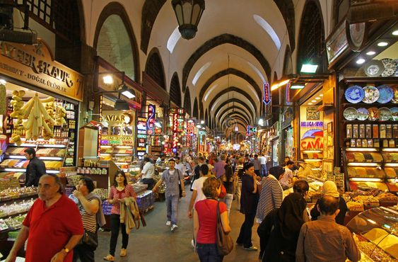 Shopping guide at Grand Bazaar Istanbul
