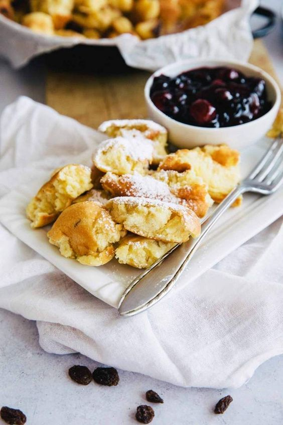 Legendary Austrian scrambled pancake