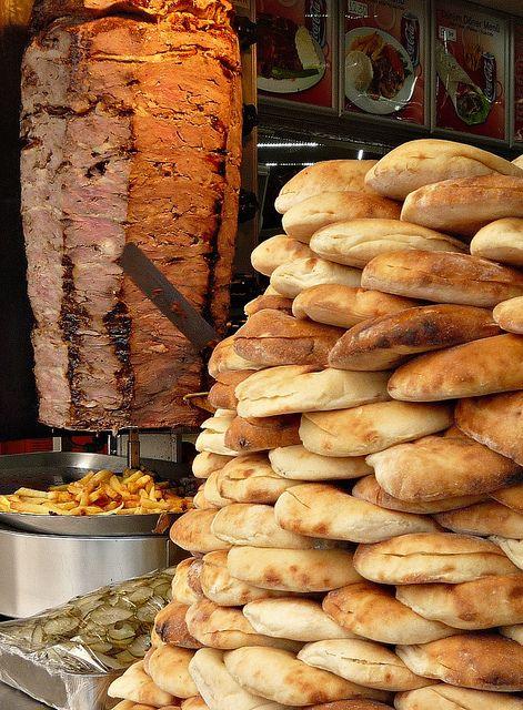 Best Istanbul street food doner kebab