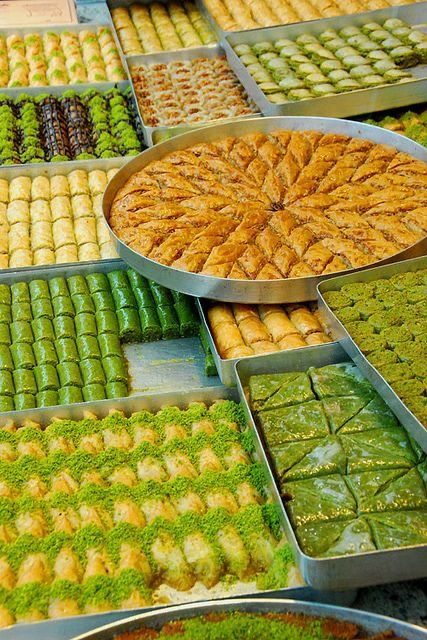the brief history of Turkish baklava