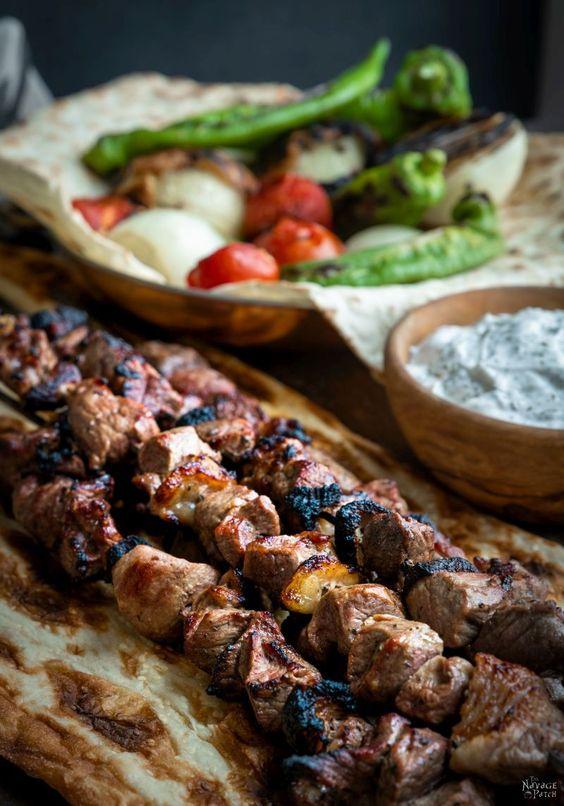 Best Turkish kebabs shish kebab
