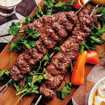 Tantalizing Turkish food Adana kebab style
