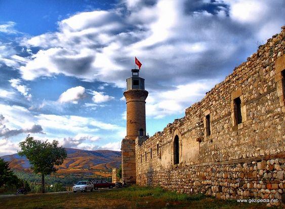 Beautiful Erzurum castle in Turkey