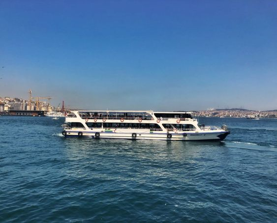 Go to the Asian side of Istanbul by a Ferry