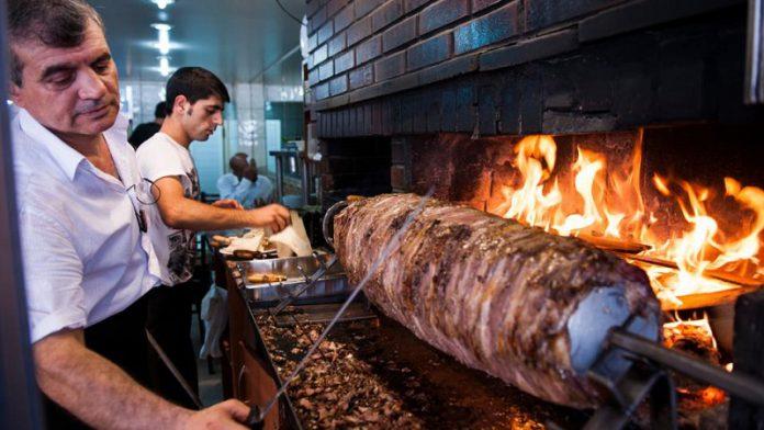 The original Turkish kebab Cağ Kebab