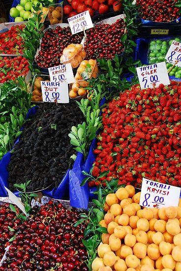 Kadikoy market Asian side of Istanbul