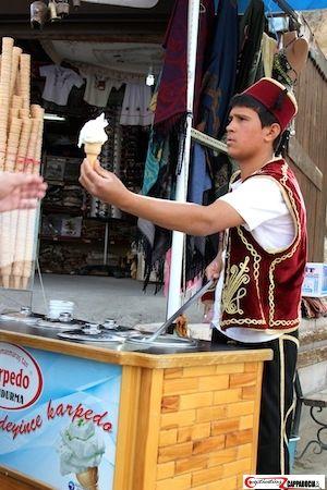 Turkish ice cream vendor prank their customer