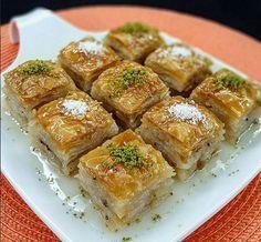 Sütlü Nuriye milk Turkish baklava