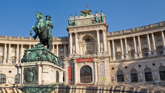 The hofburg most visited tourist attraction in Vienna