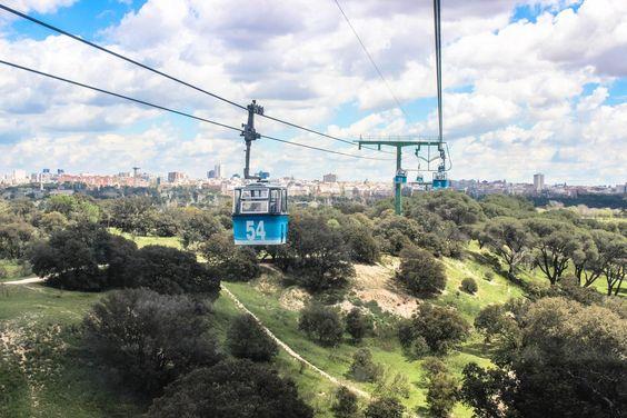 Casa de Campo cool amusement park in Madrid