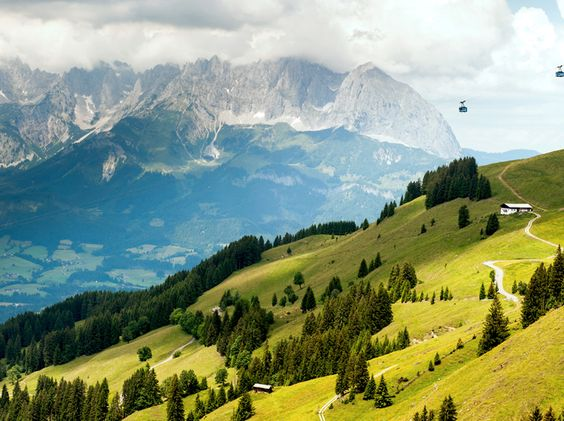 outdoor attraction in Kitzbühel, Austria