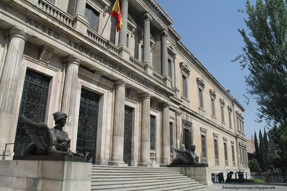 National Archaeological Museum the art in Madrid
