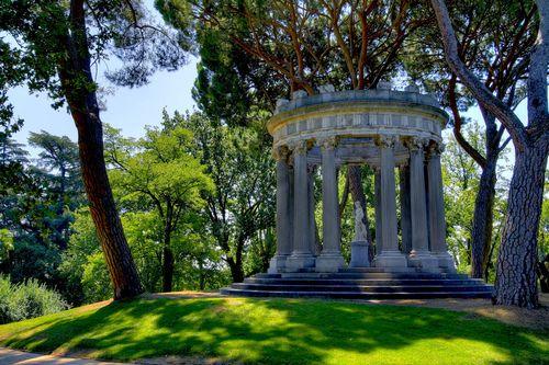 Parque de El Capricho park in Madrid