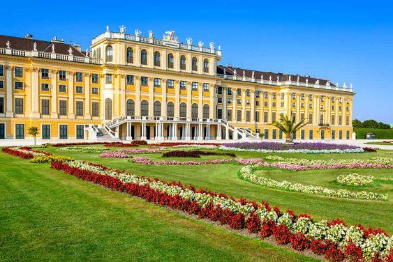 Schönbrunn Palace tourist attraction in Vienna