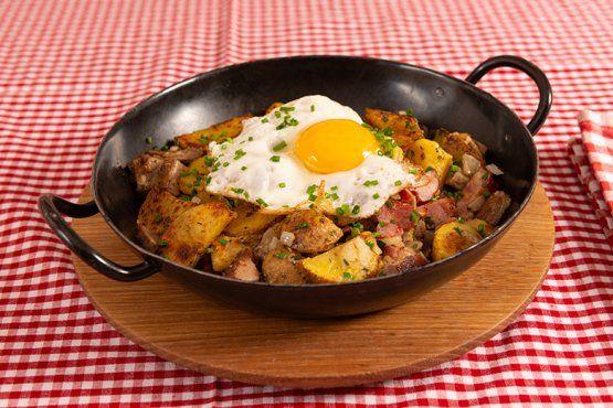 Tiroler Gröstl Famous Austrian food