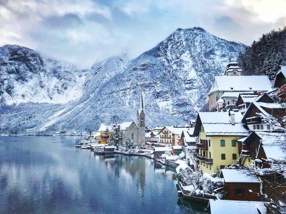 wonderful view in Hallstatt