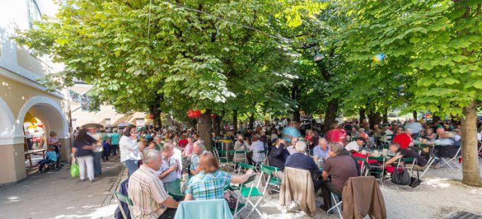 best beer garden in Salzburg