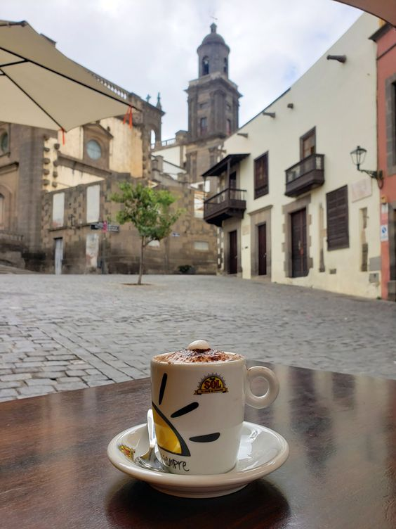 good coffee behind the Gran Via