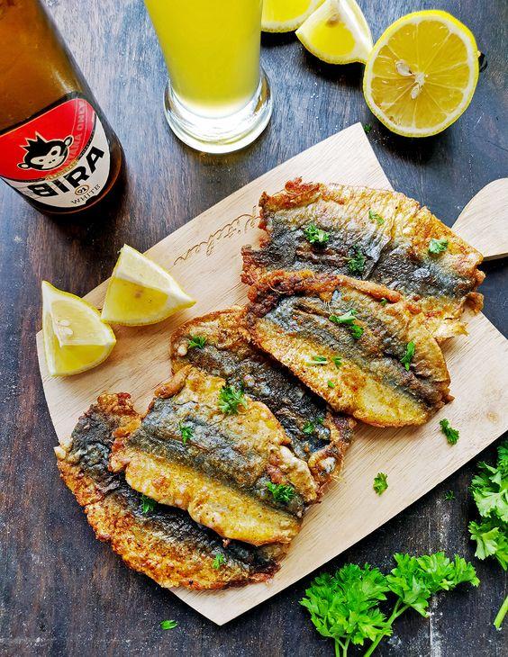 fried sardines Spanish tapas