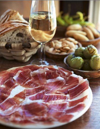 Jamon iberico popular Spanish ham