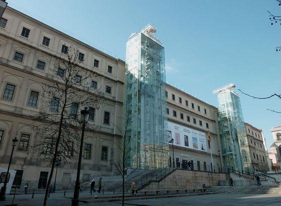 reina museum national art, Madrid