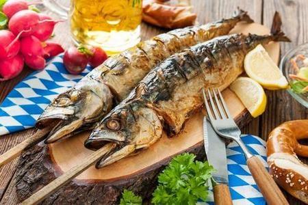 steckerlfish on the stick, Austrian dishes