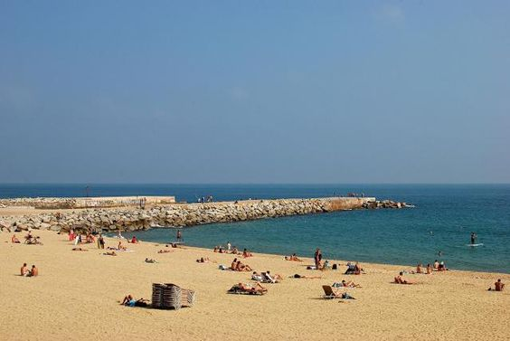 Bogatell Beach relaxing attraction in Barcelona