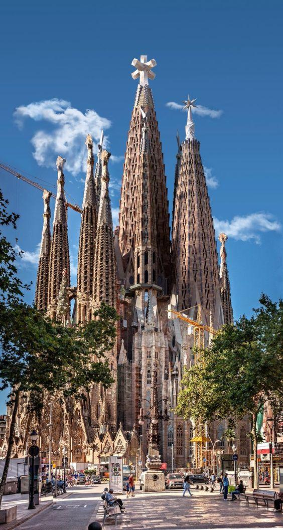 the Catholic church Sagrada familia