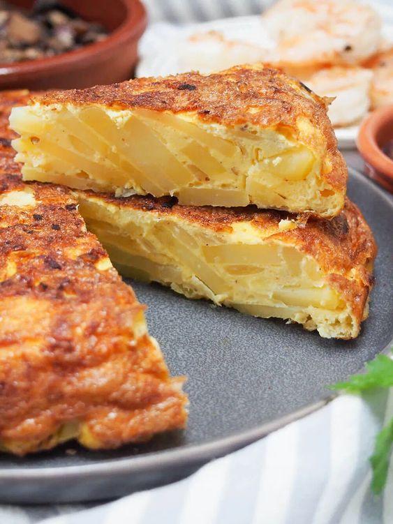 Spanish tortilla for food lover