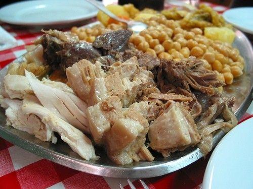 Cocido Madrileño delicious Spanish food