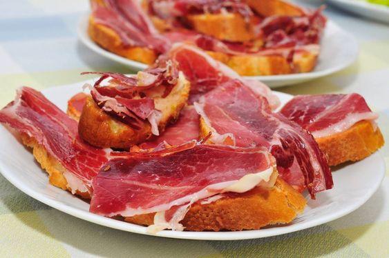 Jamon iberico the Spanish food