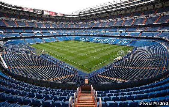 Santiago Bernabeu stadium and the seats