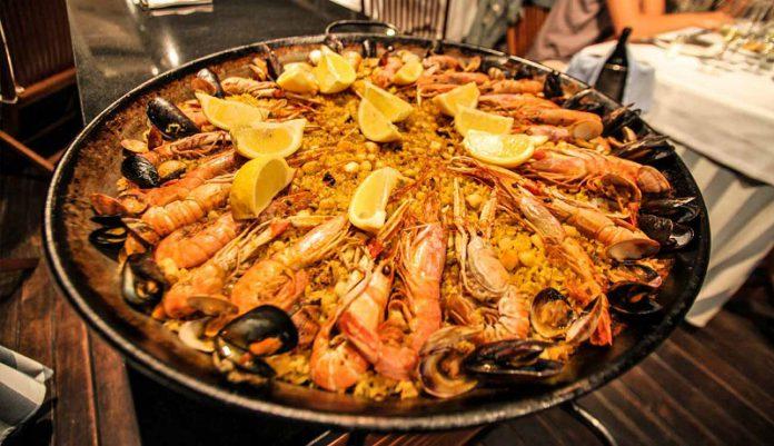 Delicious Spanish food the taste of Mediterranean