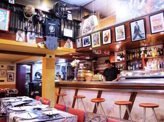 tapa bar in Barcelona